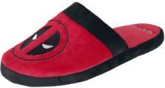 Deadpool Logo Pantofole rosso/nero