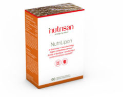 Nutrisan Nutrilipon Vegetarische Capsules A-liponzuur + Bescherming 60capsules