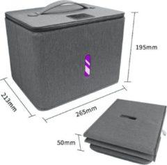 Grijze Esonic XXL Formaat UV sterilisator - UV desinfectie - UV box| Doodt tot 99.9% van bacteriën en virussen met UVC-licht
