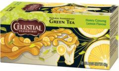 Celestial Seasonings Celestial Season Honey Lemon Ginseng groen Tea (20st)