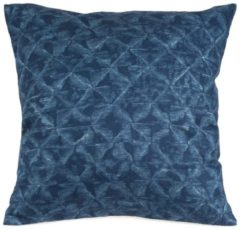 Kissen FISH PATTERN Casa di bassi denim blue