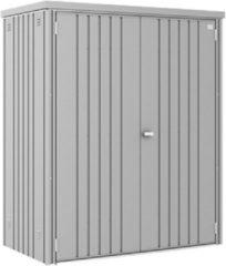 Biohort Tuinkast GR150 zilver metallic 2 deurs - 155x83x182,5cm