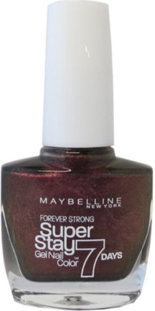 Afbeelding van Donkerrode Maybelline Super Stay Nagellak - 866 Ruby Stained