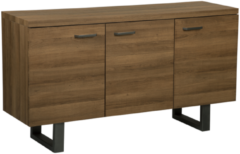 Beliani Dressoir / sideboard donkere hout-look 3 deuren TIMBER