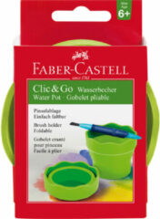 Faber Castell Watercup Faber-Castell Clic & Go groen