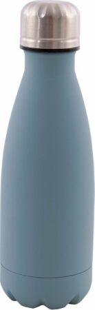 Afbeelding van Lichtblauwe Point-Virgule – Dubbelwandige thermosfles – Isoleerfles – Lekt niet – Stevig – Hemelsblauw – RVS - 350 ml