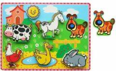New Classic Toys Puzzel - Boerderij