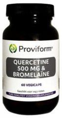 Proviform Quercetine 500 mg & Bromelaine 60 Vegan Capsules