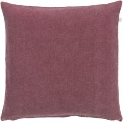 Bordeauxrode Dutch Decor Kussenhoes Anna 50x50 cm bordeaux