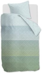 Blauwe Beddinghouse Lunas - Dekbedovertrek - Eenpersoons - 140x200/220 cm + 1 kussensloop 60x70 cm - Blue