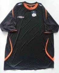 Zwarte Sportshirt Umbro maat L
