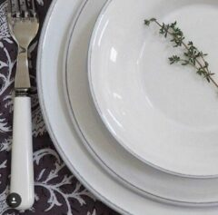 Coté Table Constance ontbijtborden (4 stuks) - wit