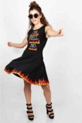 Jawbreaker Skater jurk -M- HELLO NO Zwart