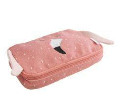 Roze Trixie - Pennenzak Rechthoekig - Mrs. Flamingo