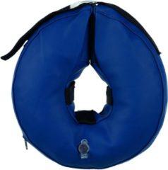 Trixie Beschermkraag Opblaasbaar Blauw - Beschermnekkraag - 32-40 cm