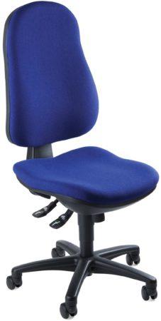 Afbeelding van Blauwe TOPSTAR bureaustoelen TOPSTAR SUPPORT SY BLAUW