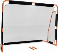 Oranje Cozytrix Voetbaldoel, 38 mm Dikke Stalen Palen, 220 x 170 Cm