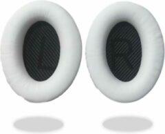 Mix-Media Oorkussens voor Bose QuietComfort 35 ii / 35 / 25 / 15 / 2 / AE2 / AE2W / AE2I - Oorkussens voor koptelefoon - Ear pads headphones wit