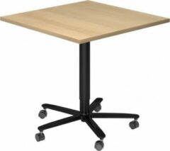 Hjh OFFICE PRO Bistro 88Q D - Systeem conferentietafel Esdoorn / Zwart