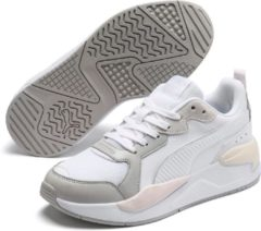 Paarse PUMA X Ray Game Unisex Sneakers - Puma White-Gray Violet-Rosewater-Whisper White - Maat 38