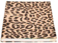 Bellatio Decorations Kaftpapier panter/luipaard print 200 x 70 cm rol - Boeken kaften - Kaft papier / cadeaupapier