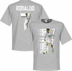 Grijze Retake Ronaldo 7 Gallery T-Shirt - S