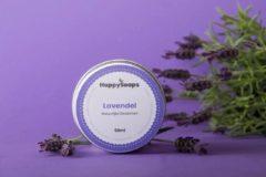 HappySoaps Natuurlijke deodorant LAVENDEL Vegan, natuurlijk en handgemaakt