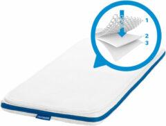 Witte AeroSleep® Evolution Pack 2-in-1: matras + 3D matraseschermer - wieg - 80 x 50 cm