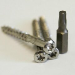 Zilveren Meuwissen Agro Vlonderschroeven RVS 150 st. + 2 bitjes 5.0 x 50mm