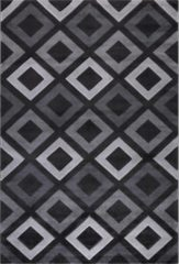 Impression Carpets Relax MOMO Vloerkleed Grijs / Wit Laagpolig - 200x290 CM