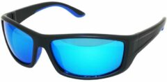 Zwarte Amoy Merir Sportbril 1.1mm Polarized. TR-90 Ultra-Light frame Anti-Reflect coating.