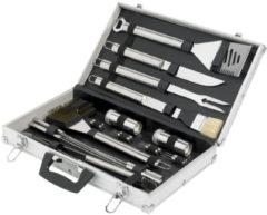 Grijze Cosy&Trendy Cosy & Trendy BBQ Set In Aluminium Koffer - 21-Delig