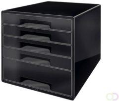 Leitz Dual Black ladenblok met 5 laden, zwart
