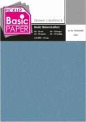 Blauwe PK international Basic Linnenkarton A4 Jeans - 10 vel - 215g