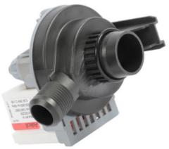 Ablaufpumpe mit Pumpenstutzen, 1m Förderhöhe (Magnettechnikpumpe, 25 Watt) für Waschmaschinen 1240180065
