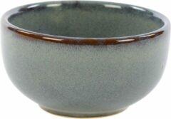 Blauwe Kaitø KAITØ Kom 11,5xh5 cm. 'Slate Silk' Stoneware - 6 stuks