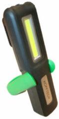 Groene Hofftech LED Looplamp / Handlamp / Werklamp COB Oplaadbaar + Magneet 2-in-1