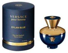 VERSACE POUR FEMME DYLAN BLUE 100ml EDP Eau de Parfum profumo donna