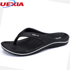 Bambino UEXIA Summer Flip Flops Men Shoes Slippers Leisure Fashion Holiday Beach Non-slip Lightweight EVA Durable Anti-skid Comfortable
