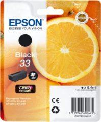 Epson Oranges 33 K inktcartridge 1 stuk(s) Origineel Normaal rendement Zwart