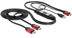 Delock High Speed HDMI Splitter cable 1 in > 2 out