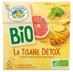 La Tisaniere Detox theebuiltjes bio 20 Stuks