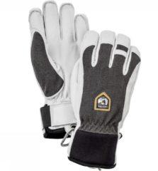 Hestra - Army Leather Patrol 5 Finger - Handschoenen maat 8, grijs/zwart