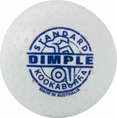 Hockeybal Kookaburra dimple standaard wit