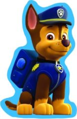 Nickelodeon Paw Patrol Kussen Chase 34 X 19 Cm Blauw