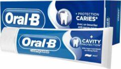 Oral-B Oral B cpmplete + gaatjes bescherming met suikerzurenschild munt 75 ml