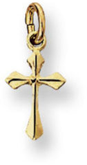 Kasius Trendjuwelier huiscollectie 4005420 Gouden bedel kruis
