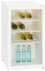 Exquisit Glastür-Getränkekühlschrank BC 1-10-4.1 E Exquisit weiß