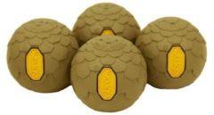 Helinox - Vibram Ball Feet Set maat 45 mm, bruin/oranje