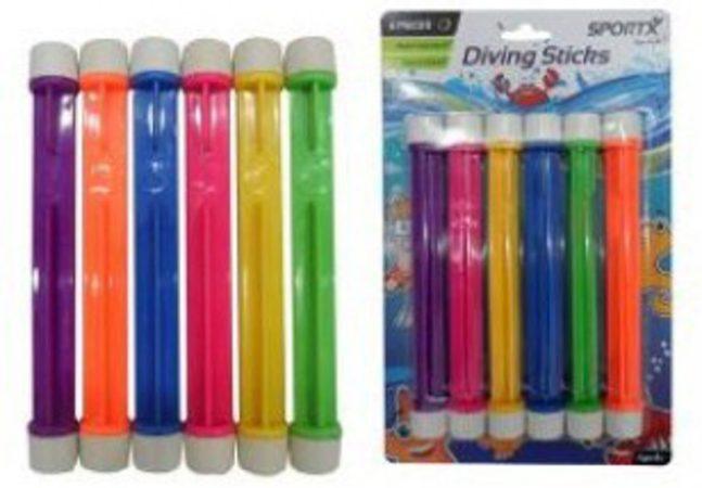 Afbeelding van SportX Diving Sticks 6 Stuks